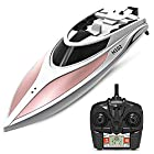 Haehne Radio Controlled Toy High Speed Racing RC Boat, LCD Screen, 2.4G System