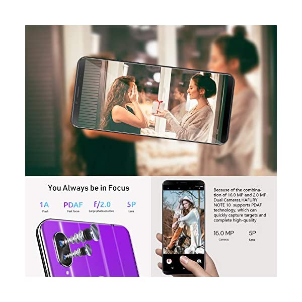 4GB RAM+32GB ROM Dual Sim Dual Camera/Mobile phone Black HAFURY NOTE 10/4G/Android 9 Sim Free Unlocked Smartphone,/5.93 inch FHD+/Display/with 4000mAh Battery 128GB Extension