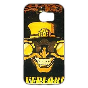 DIY Design FC Borussia Dortmund 09 FC Phone Case Cover For Samsung Galaxy S6 3D Plastic Phone Case
