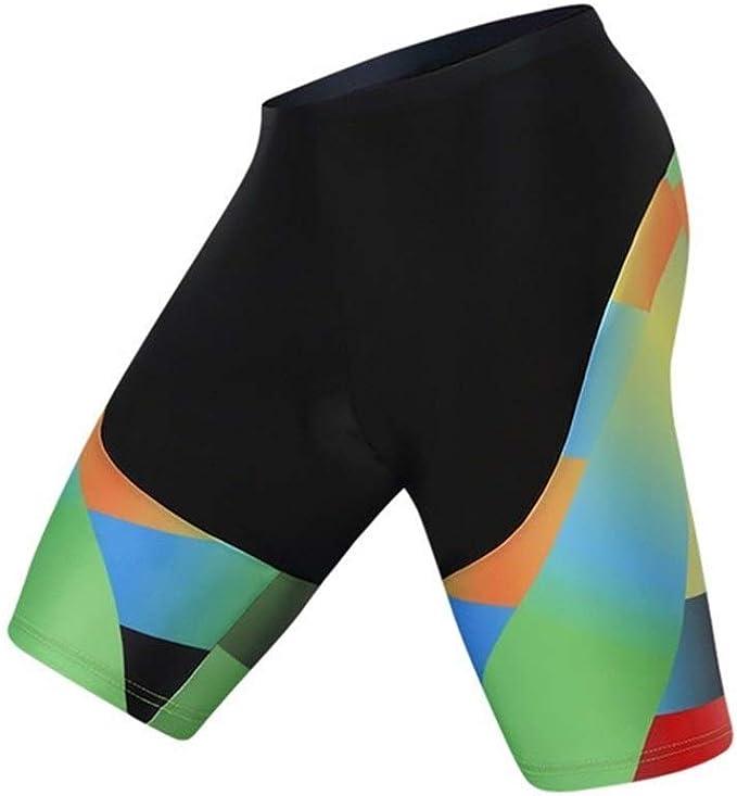 Gneric YMYGBH Cuissard Cycliste Homme Cuissards 4D antichocs VTT Homme Shorts V/élo Anti-Boulochage