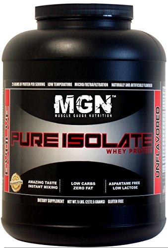 MGN Whey Protein Isolate 5lb Cinnamon Bun