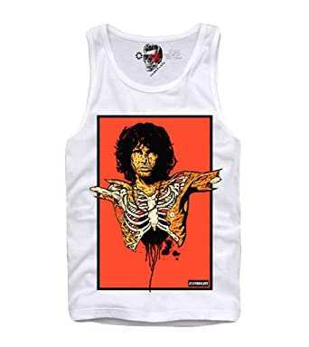 b6873f0aeedea Image Unavailable. Image not available for. Color  E1SYNDICATE Tank TOP  Shirt Jim Morrison ...