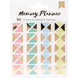 American Crafts Memory Planner 80 Piece Photo Corner Stickers