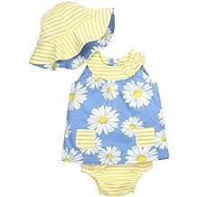 Gerber Baby Girls' 3 Piece Dress Set