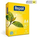 Papel Report A4 Color Amarelo Pacote com 500 Folhas
