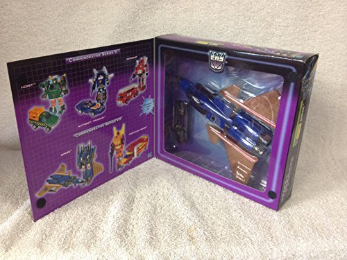 Hasbro DIRGE Transformers 2003 Commemorative Series 7 Decepticon Jet to Robot and Back