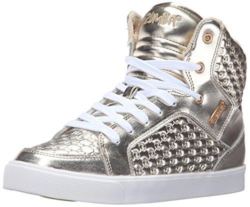Zumba Women's Street Boss Dance Shoe - Gold/Metallic - 9 ...