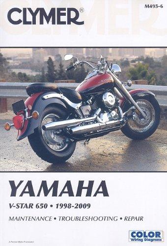 Clymer Yamaha V-Star 650 1998-2009 (CLYMER MOTORCYCLE REPAIR)