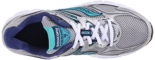 Silver Top Cohesion Women's Teal Navy Low W Saucony Sneakers 9 XOCT0wq