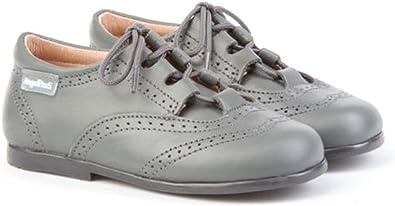 ANGELITOS Zapatos inglesitos de Piel para Niña y Niño (Unisex). Marca Modelo 505. Calzado Infantil Hecho EN España: Amazon.es: Zapatos y complementos