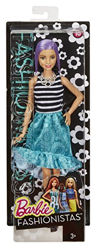 Barbie Fashionistas Doll 18 Va-Va-Violet - Original