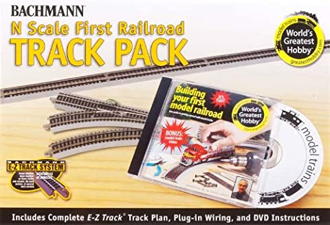 Bachmann World's Greatest Hobby Track Pack N Scale (Bachmann N Scale Track Layouts)