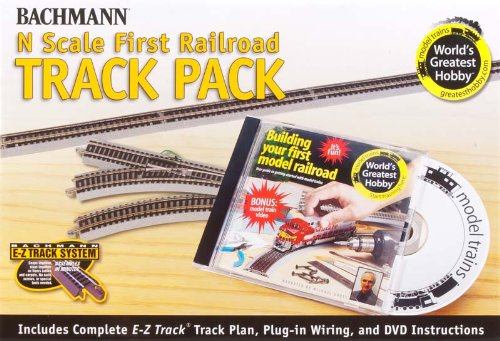 Bachmann World's Greatest Hobby Track Pack N Scale from Bachmann Trains