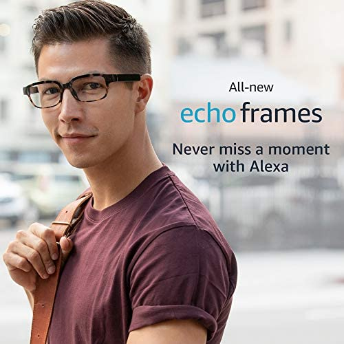 All-new Echo Frames (second Gen) | Smart glasses with open-ear audio and Alexa | Modern Tortoise