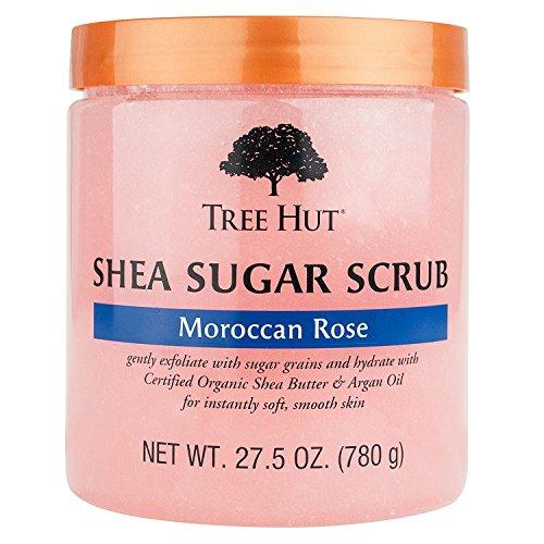 - Tree Hut Shea Sugar Scrub, Moroccan Rose (27.5 oz.)