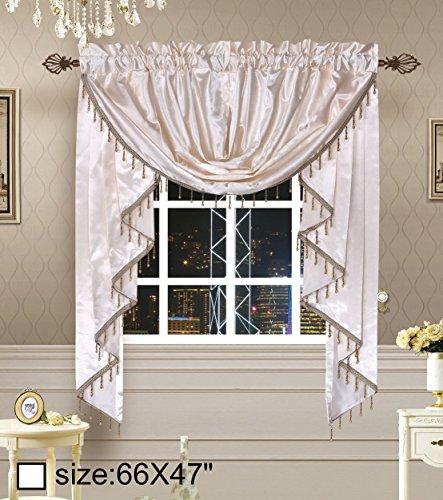 Octorose Royalty Custom Waterfall Window Valance Swags & ...