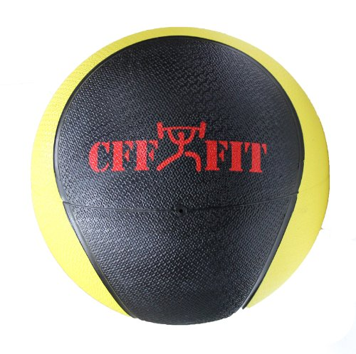 CFF Deluxe Rubber Medicine Ball, 8-Pound