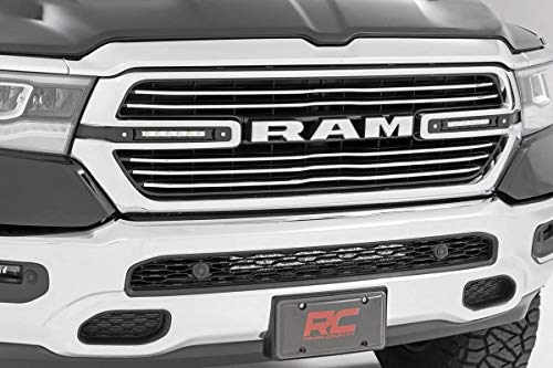 Chrome Grill Kit - Rough Country Dual 6