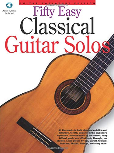 Fifty Easy Classical Guitar Solos: Amazon.es: Willard, Jerry ...