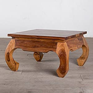 Perfect Arcana Handmade Opium Wood Square Coffee Table