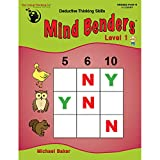 The Critical Thinking Mind Benders Book 1 (Grades PreK-K)