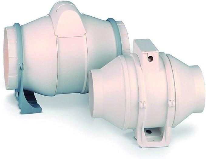 Exterior-entre el ventilador canal de ventilador cata Duct IN-LINE ...
