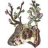 NEW Miho Bonsai Mini Trophy Deer Head Wall Decoration