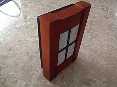 IQ America Designer Series Wired/Wireless Door Chime with Arts & Crafts Style Cover