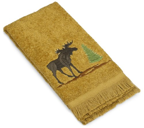 Avanti Linens Forestry Fingertip Towel, Nutmeg
