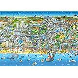 Brighton Street Map 1000 Piece Jigsaw Puzzle (jg)