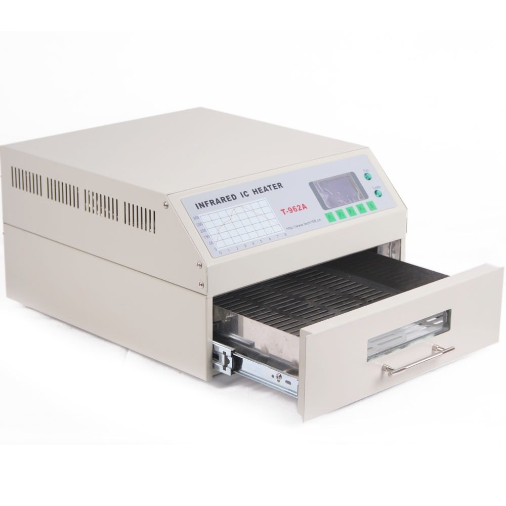 Chaneau T962A Reflow Oven Soudeur Infrarouge Reflow Four IC BGA SMD Reflow Infrarouge