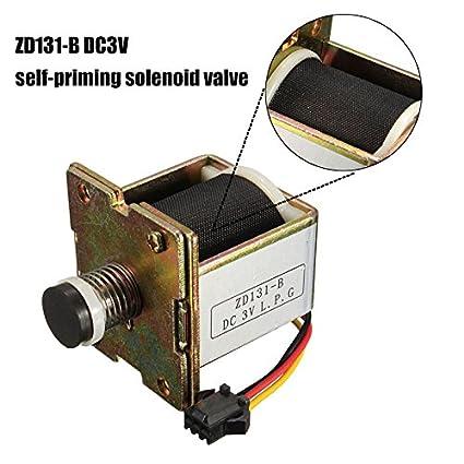 Inovey Macro Cobre DC 3V Gas Calentador De Agua Electroválvula Auto Cebado Válvula Calentador De Agua