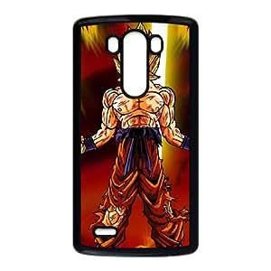 LG G3 Cell Phone Case Black Dragon Ball Z Super Saiyan 2 OJ405542