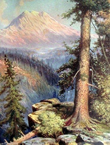Mount Ranier : R. Atkinson Fox : Fine Art Giclee Print