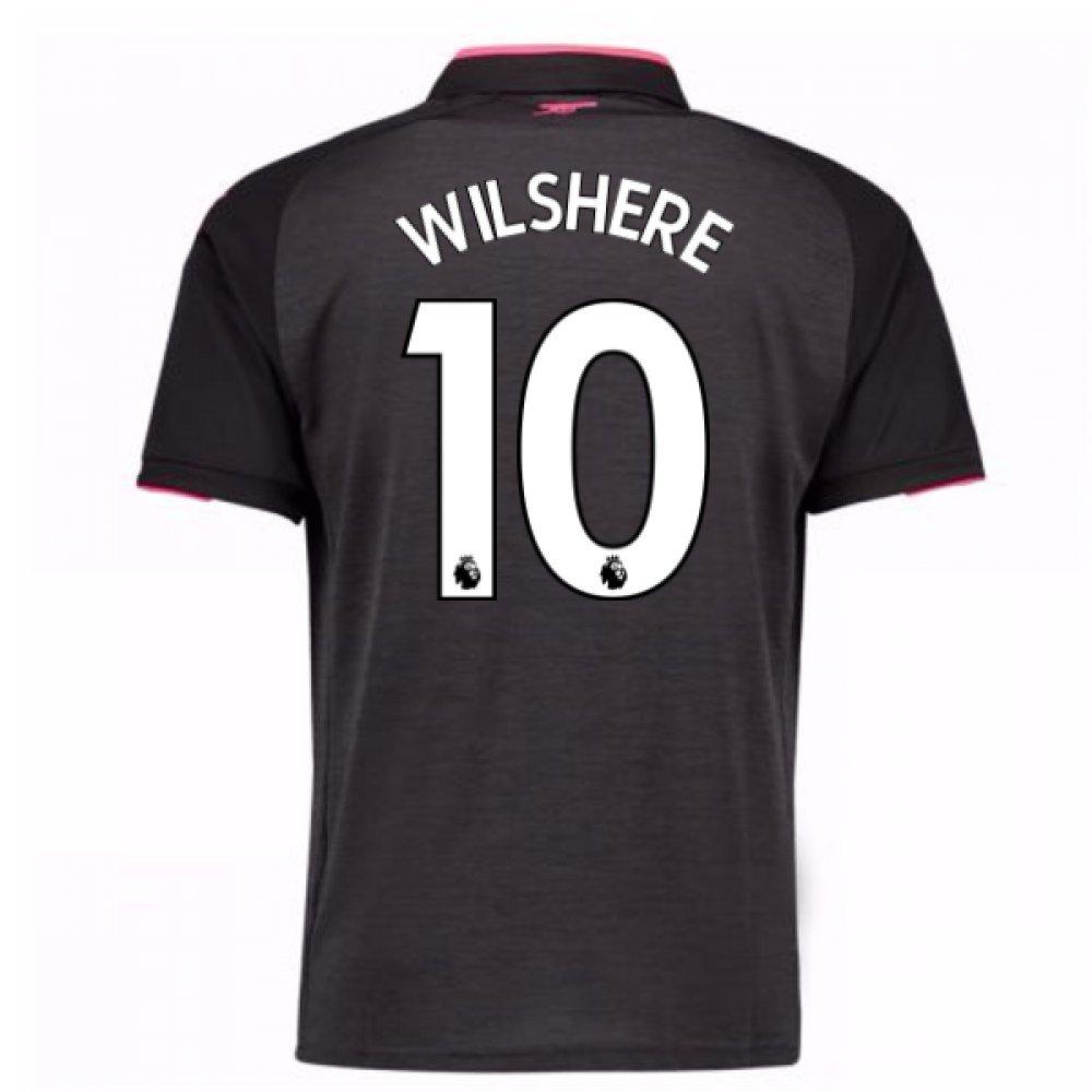 2017-18 Arsenal Third Football Soccer T-Shirt Trikot (Jack Wilshere 10)