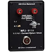 MFJ-911H Balun: 1:1 or 4:1, switchable