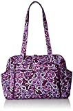 Vera Bradley Women's Stroll Around Baby Bag, Lilac Paisley