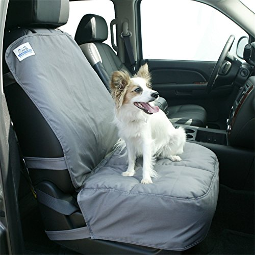 Canine Covers Semi-Custom Bucket Seat Charcoal Pet Seat Protector ()