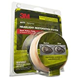 3M Headlight Renewal Kit with Protectant, (39045)