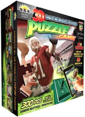Popar Juguetes fútbol Americano 3D Puzzle: Amazon.es: Juguetes y juegos