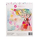 Jane Davenport Mixed Media Collaging Paper Pad - 48 Pieces of Acid-Free Archival Sheets