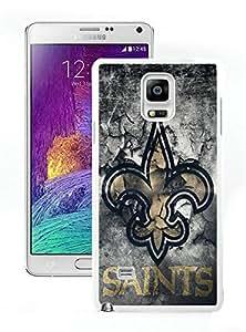 Popular And Unique Custom Designed Case For Samsung Galaxy Note 4 N910A N910T N910P N910V N910R4 With Orleans Saints 23 White Phone Case