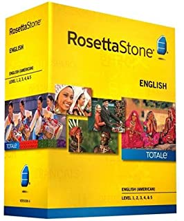 Rosetta Stone Version 4 TOTALe: English (American) Level 1, 2, 3
