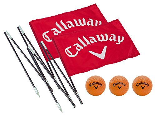 Green Golf Flags - Callaway Backyard Driving Range