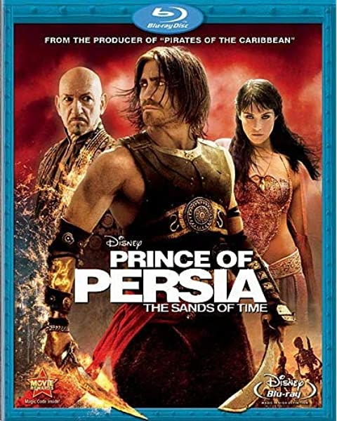 Amazon Com Prince Of Persia The Sands Of Time Blu Ray Jake Gyllenhaal Ben Kingsley Gemma Arterton Alfred Molina Mike Newell Based On The Video Game Series Prince Of Persia C Screen Story By