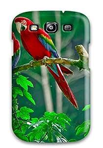 New Arrival Galaxy S3 Case Parrots Paradise Case Cover