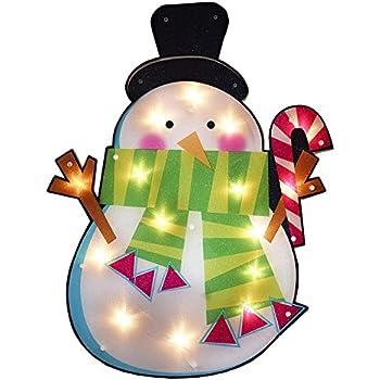 Amazon Com Northlight 17 In Lighted Waving Snowman