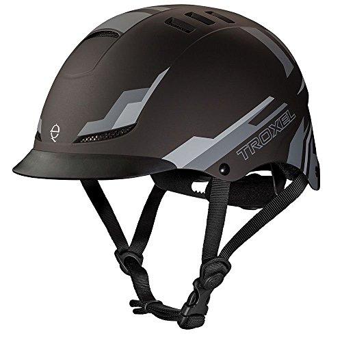 (Troxel TX Performance Helmet, Black Nitro, Large)