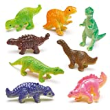 Stretchy Dinosaurs for Children to Play with Perfect Party Bag Filler Small Gift Idea for Kids (Pack of 12)