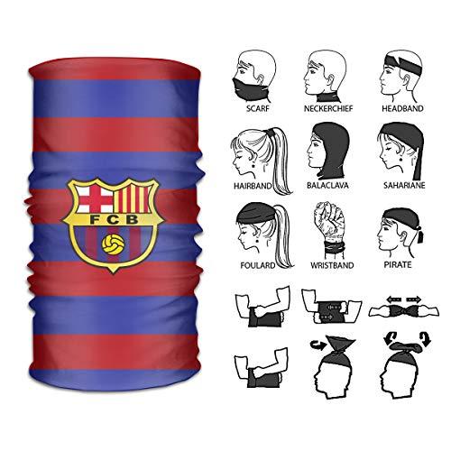 (Fc Barcelona Headbands,Neck Gaiter,Headwear,Magic Scarf Seamless Bandana For Fishing, Hiking)
